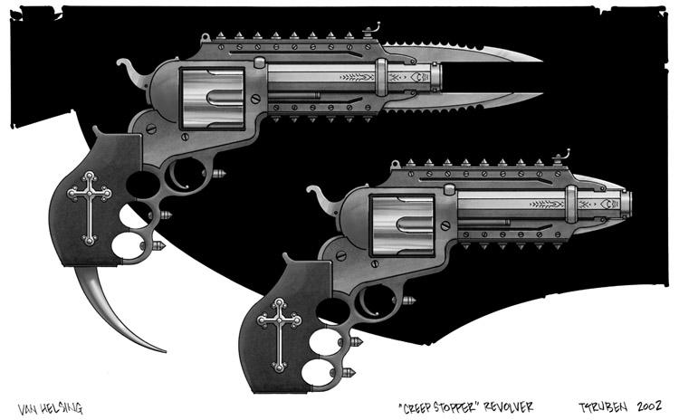 Van Helsing arsenal   Van Helsing Weapons