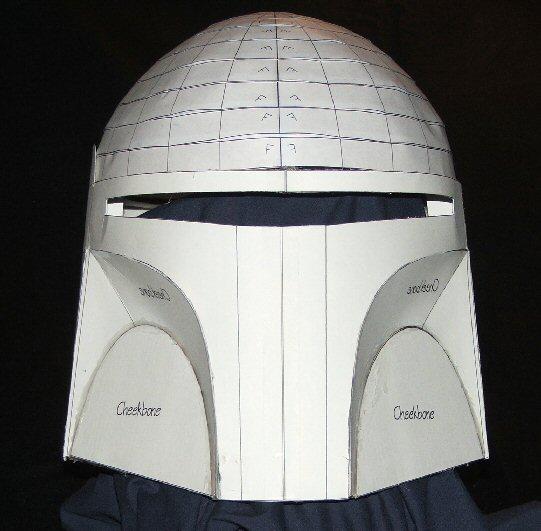 Boba Fett Helmet Blueprints/Templates - Page 2